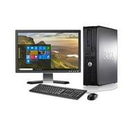 "Dell - Optiplex Desktop Computer PC  Intel Core 2 Duo - 4GB Memory - 250GB Hard Drive - Windows 10 - 19"" LCD"