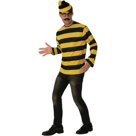 Where's Waldo Odlaw Adult Halloween Costume - Toddler Waldo Costume