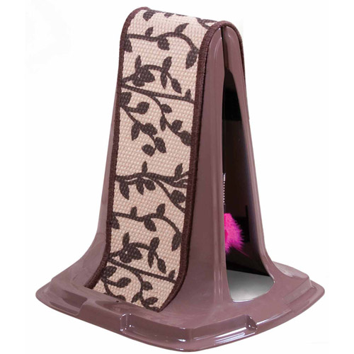 Petmate Doskocil Co. Inc. Cat Scratch Post, Lean On Me