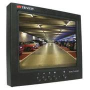 TATUNG TLM-0801 CCTV Monitor,LCD,Black,12VDC,8 in.