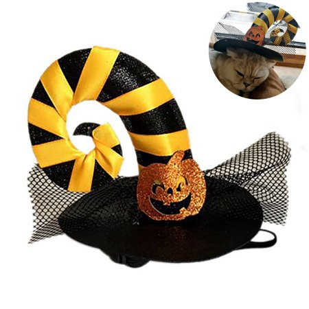 Halloween Pet Hat, Legendog Pumpkin Spider Dog Cat Party Decoration Accessories Pet Cosplay Fancy Costume Cap