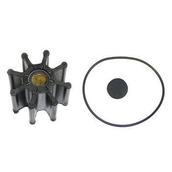 "Raw Water Pump,Impeller Kit Mercruiser V6 V8 w/Dbl Flat 2 5/8"" Dia 2"" W 2000-Up Pro #: 69201 X-Ref #: 862232A2 18-3016-1, 9-45310"