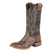Stetson Western Boots Mens Alta Leather Brown 12-020-8863-0780 BR