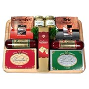 The All-time Favorite Meat and Cheese Gift Basket for Him | Holiday Gift Idea