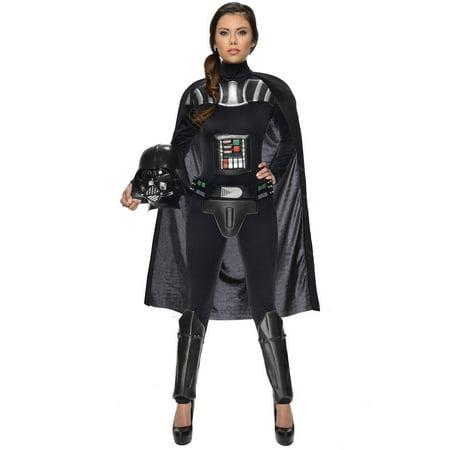 Star Wars Darth Vader Female Bodysuit Women's Adult Halloween (Women's Star Wars Costumes Uk)