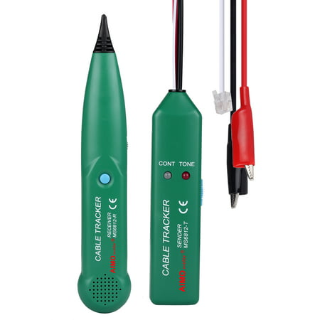 Professional AIM MS6812 Telephone Wire Tracer Portable UTP Tool Kit LAN Network Cable Tester Line