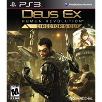 Deus Ex: Human Revolution-director's Cut - Action/adventure Game - Blu-ray Disc - Playstation 3 (91349)