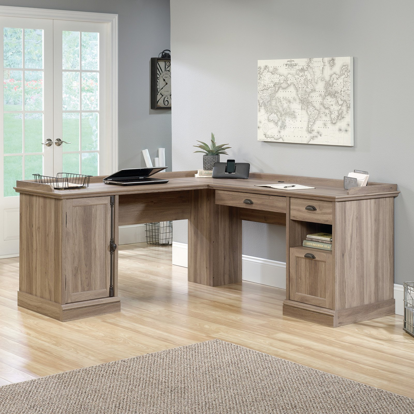 Sauder Barrister Lane L-Shaped Desk by Sauder