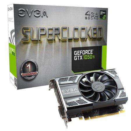 Evga Geforce Gtx 1050 Ti Sc Gaming  4Gb Gddr5  Dx12 Osd Support  Pxoc   04G P4 6253 Kr