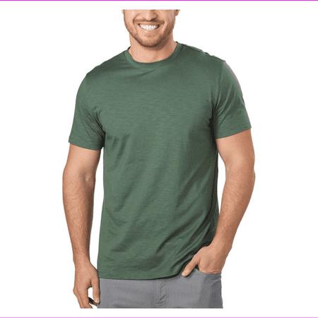 DKNY Men's Short Sleeve Crew Neck Classic Fit T-shirt  S/Duck Green