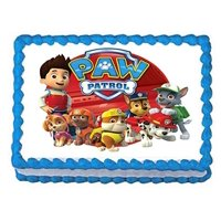 Product Image Paw Patrol On Tour 1 4 Sheet Edible Frosting Photo Birthday Cake Topper