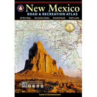 New Mexico Benchmark Road & Recreation Atlas (Paperback)