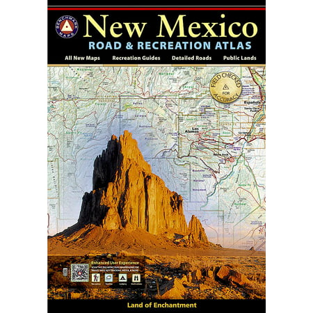 New Mexico Benchmark Road & Recreation Atlas (Paperback) ()