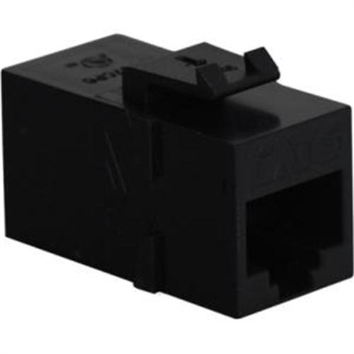 ICC Cat 6, Modular Coupler, Black IC107CP6BK