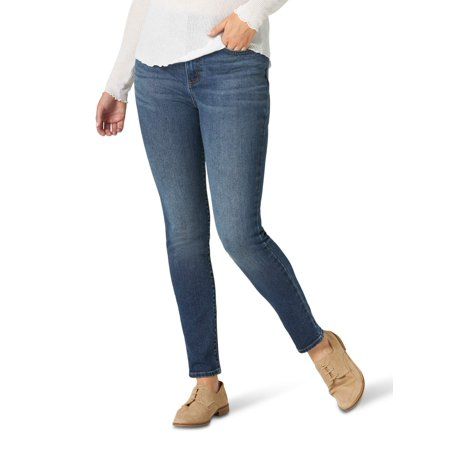 Lee Women's Heritage High Rise Skinny Ankle Jean