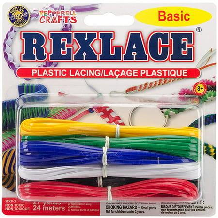 Rexlace Plastic Lacing, 27yd - Plastic Lacing