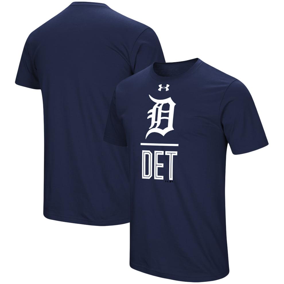 Detroit Tigers Under Armour Performance Slash T-Shirt - Navy