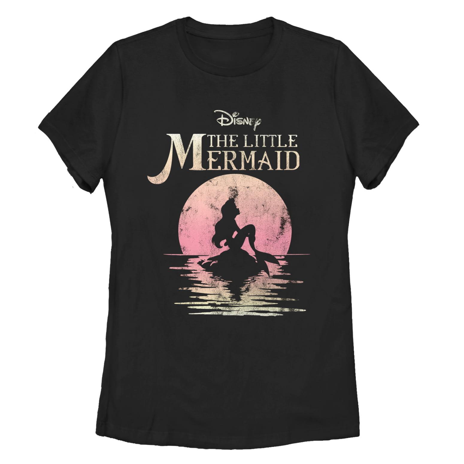 The Little Mermaid Women's Ariel Sunset T-Shirt