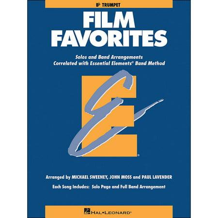 - Hal Leonard Film Favorites B-Flat Trumpet