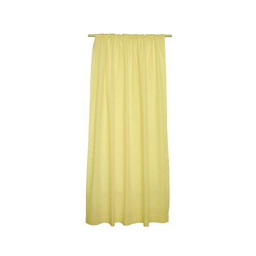 Tadpoles Tadpoles Classic 84'' Yellow Solid Color Curtain Panels