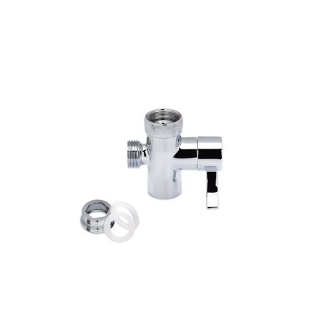 SmarterFresh Faucet Diverter Valve With Aerator and Male Threaded Adapter, Faucet Adapter for Hose Attachment