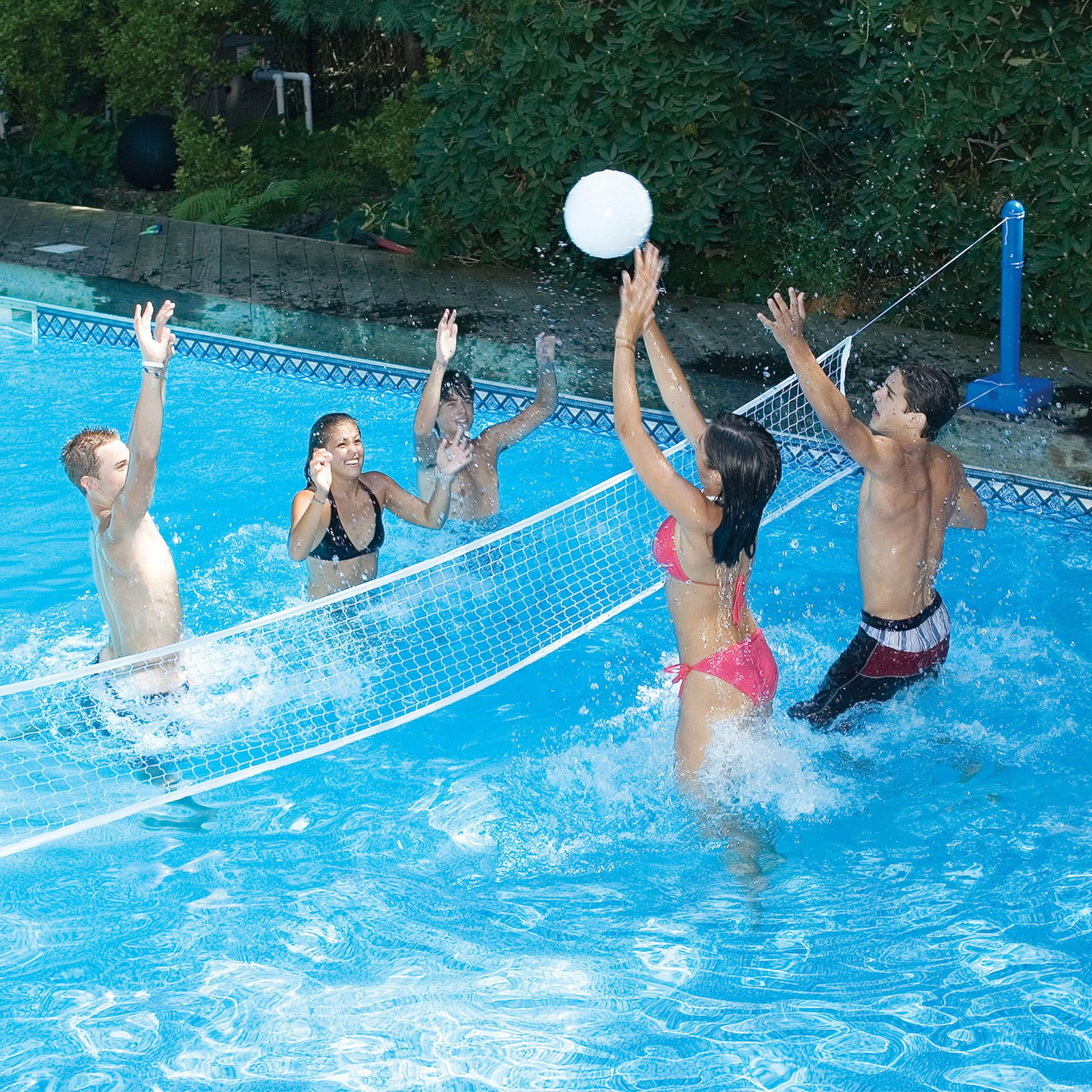 Swimline In-Ground Across Pool Volleyball Game for Swimming Pools by Swimline