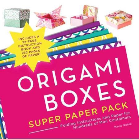 Origami Boxes Super Paper -