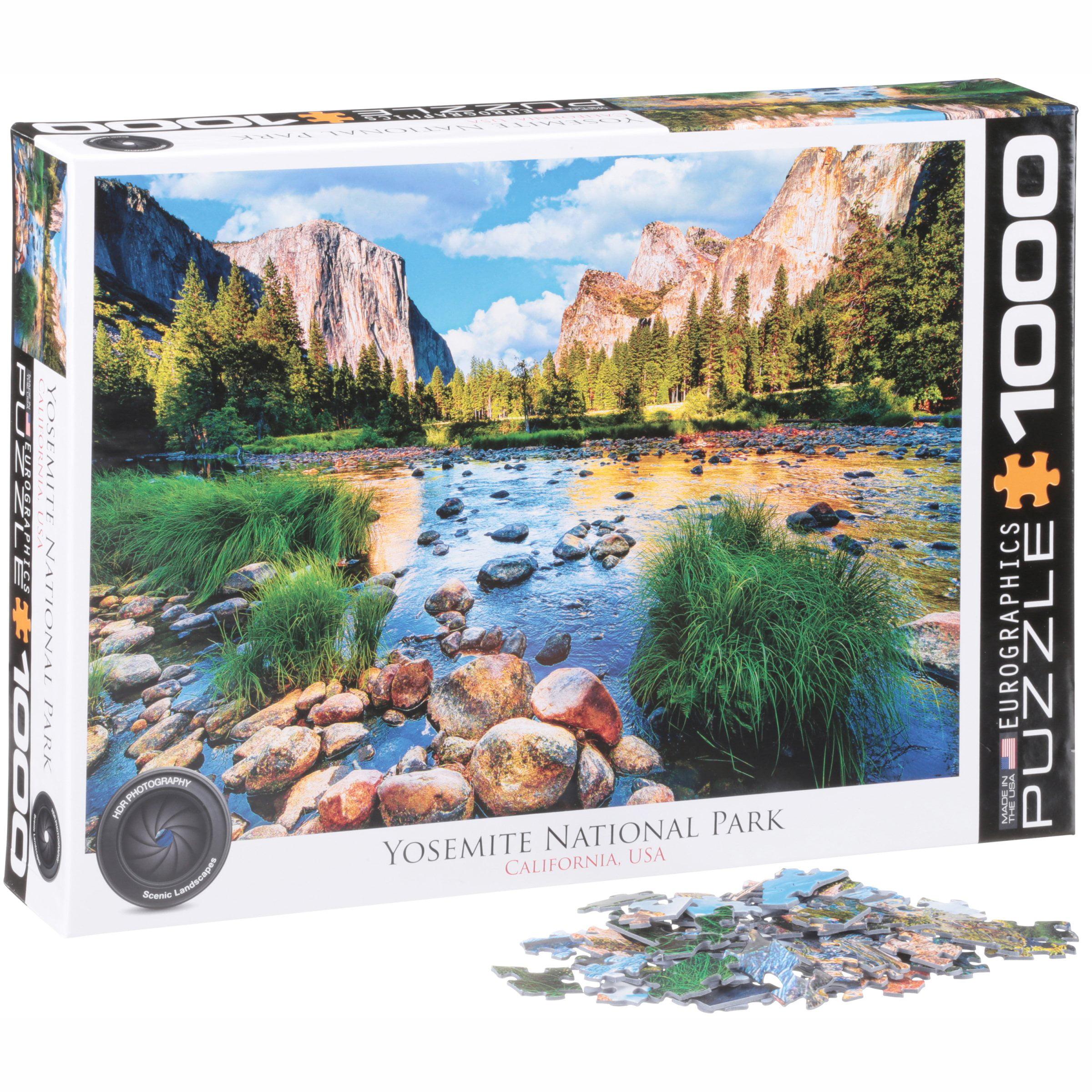 Eurographics Yosemite National Park 1000 Piece Puzzle by EuroGraphics