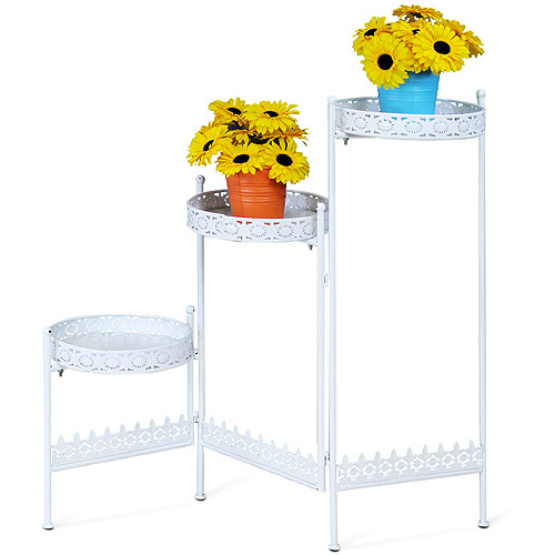 Furinno FNBJ-22099 Balmain 3-Tier Collapsible Plant Stand