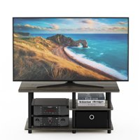 """Furinno Turn-N-Tube TV Stand for TV up to 45"""" with Storage Bin, Multiple Finishes"""