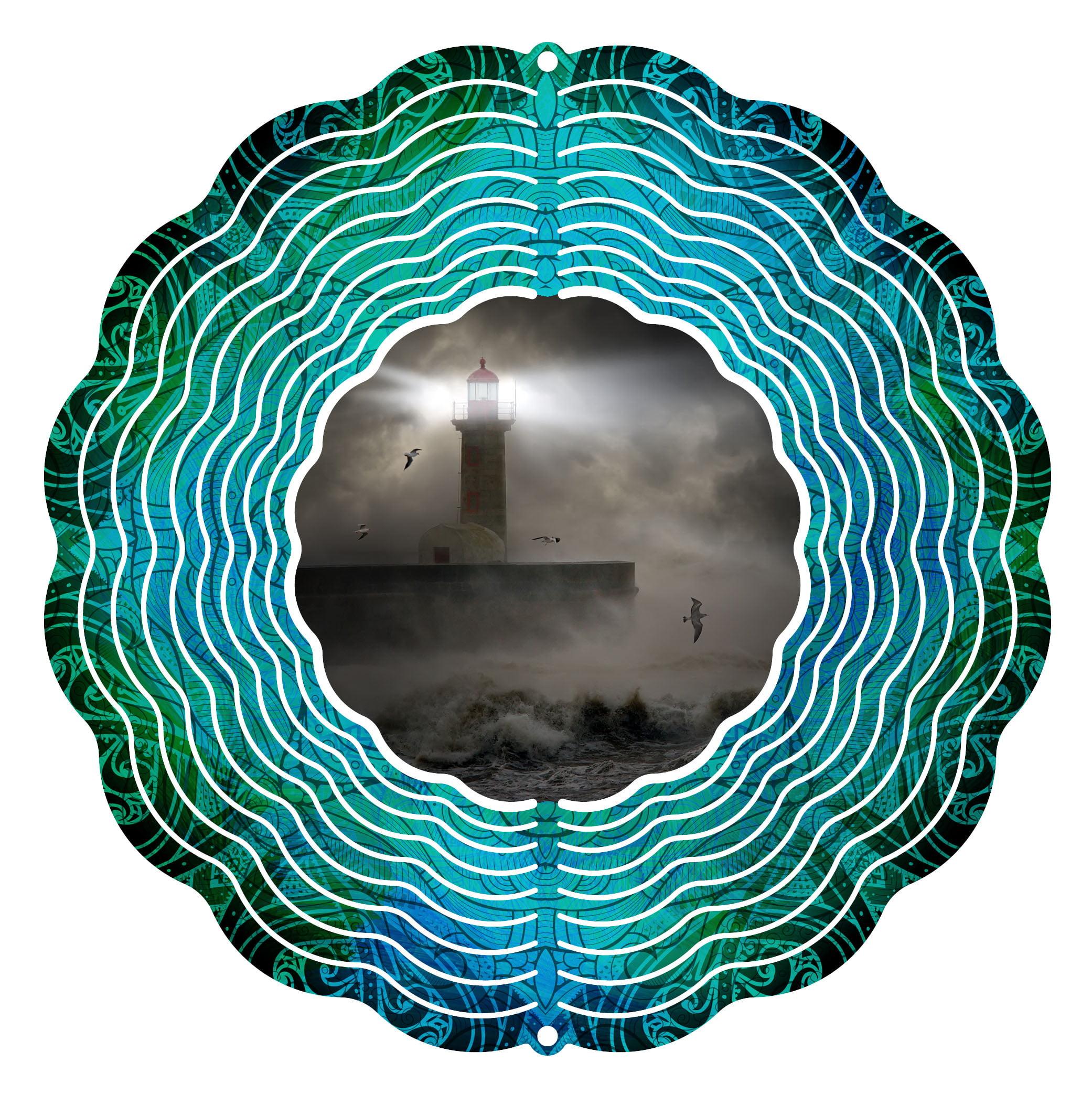 "Garden Wind Spinner Stormy Sea 10"" Wind Spinner by Next Innovations"