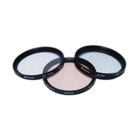 Polaroid Optics 43mm 3 Piece Special Effect Camera/Camcorder Lens Filter Set - Special Effects Contact Lenses Halloween