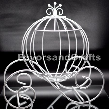 Cinderella Pumpkin Carriage Wedding Wire Centerpiece Coach Carroza de - Wire Crown Centerpieces