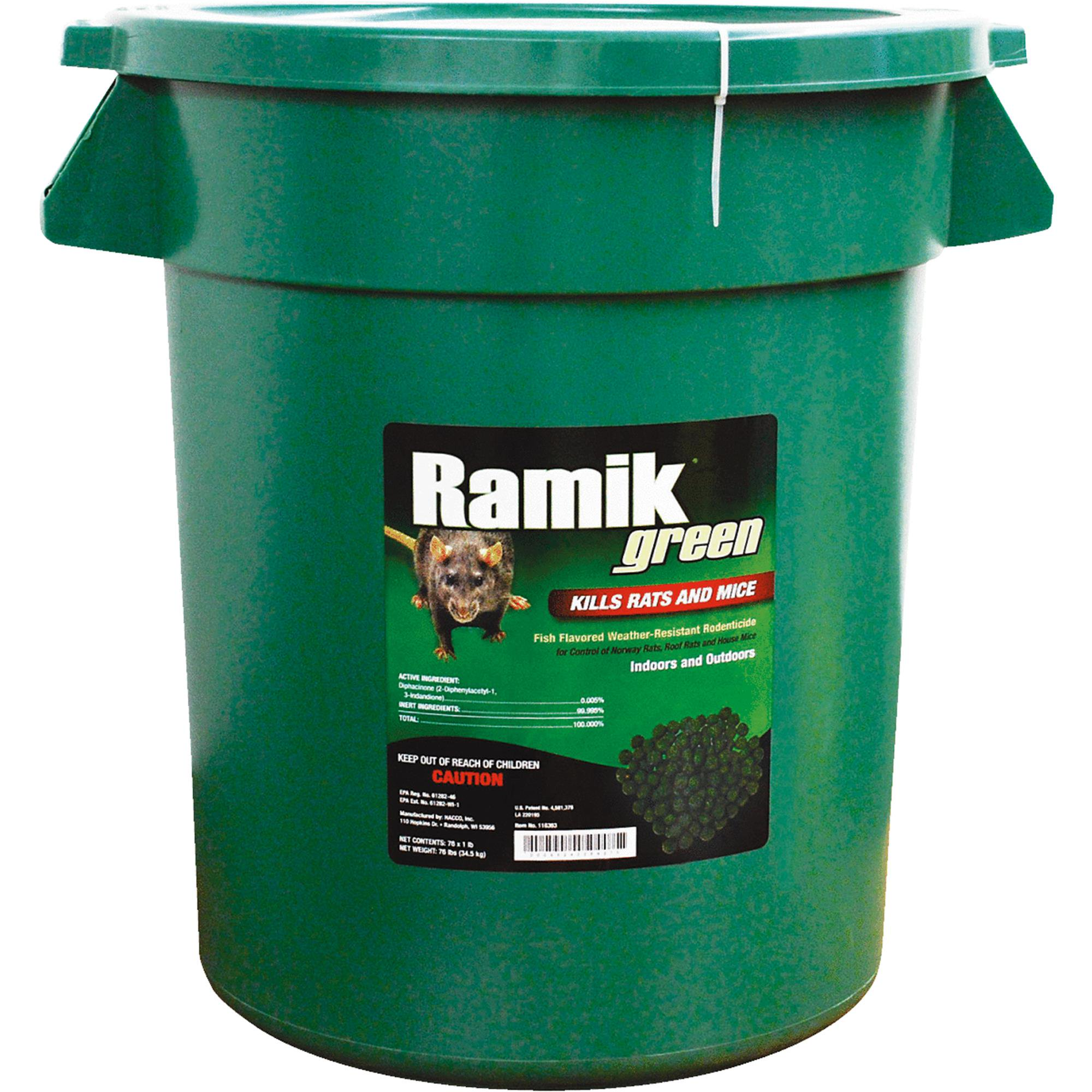 NEOGEN Ramik Green Rat And Mouse Poison Pellets Bucket
