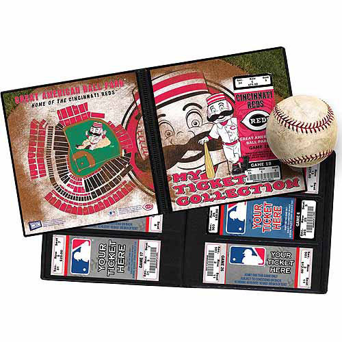 "That's My Ticket MLB Mascot Ticket Album, 8-1/4"" x 8-3/4"""