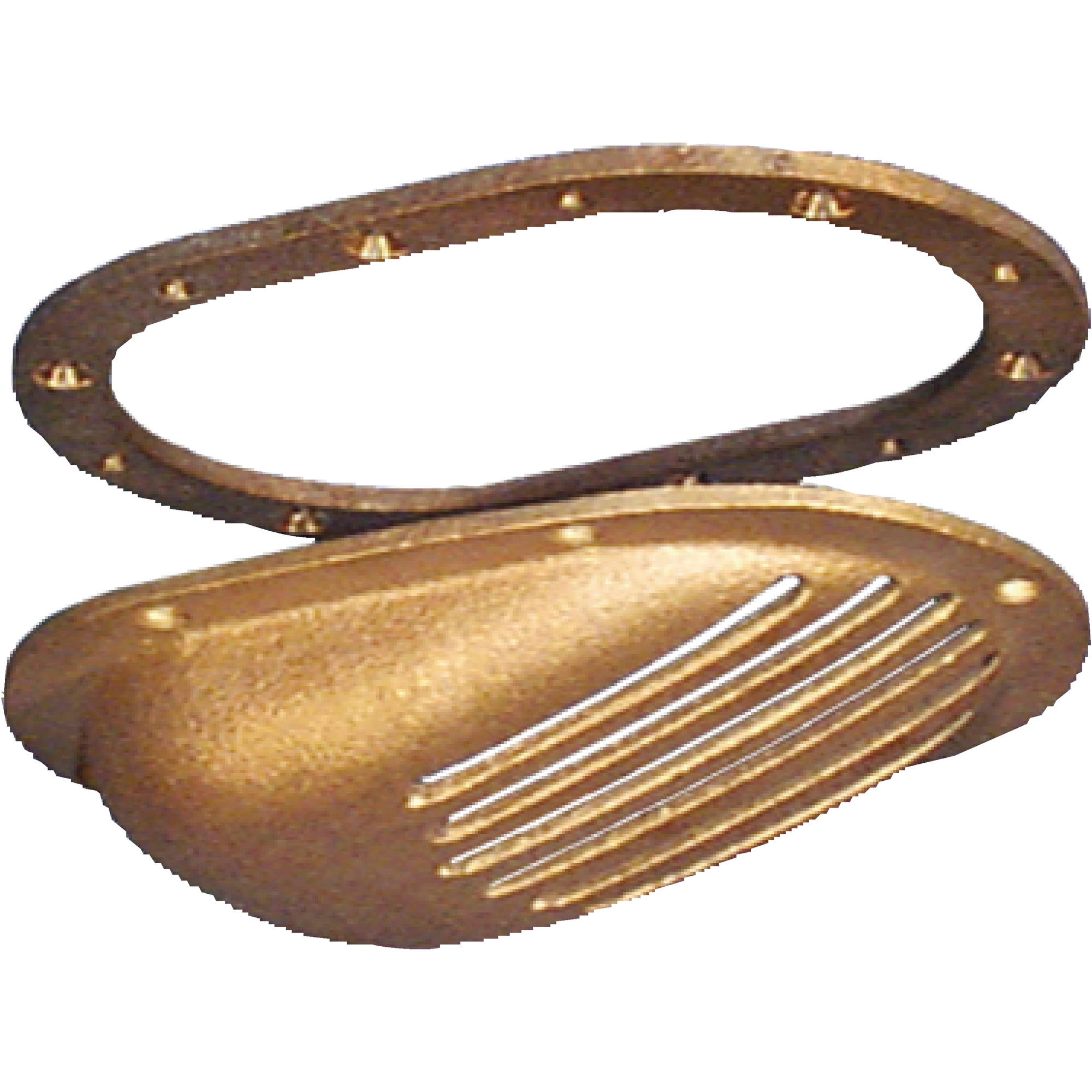 Groco SC Bronze Slotted Strainer with Mount Ring