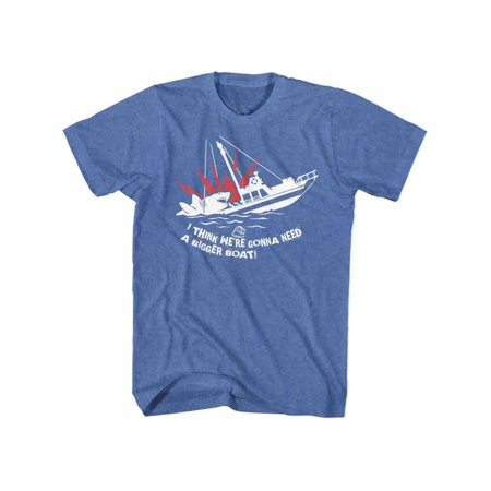 Jaws 1970s Shark Thriller Spielberg Movie Bigger Boat Adult T-Shirt Tee](Clothes Of The 1970s)