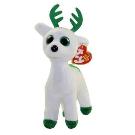 Ty Inc. - Beanie Babies - Peppermint the Reindeer - - Baby Reindeer For Sale