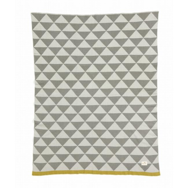 FERM LIVING 9027 32 x 39 Little Remix Blanket with 100% Cotton