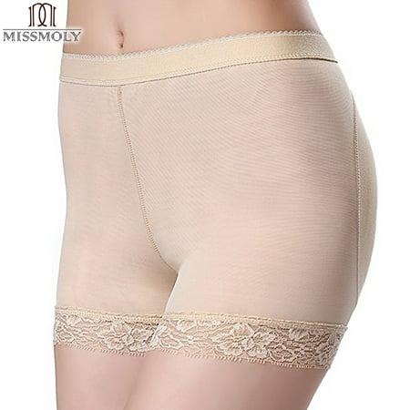 a454d03a4e39 SLIMBELLE - SLIMBELLE Women Lace Padded Seamless Butt Hip Enhancer Shaper Panties  Underwear - Walmart.com