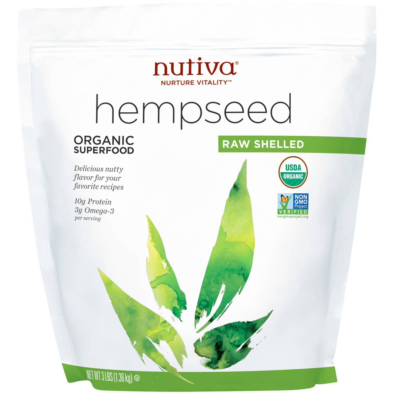 Nutiva Hemp Seeds, 3.0 Lb, 45 Servings