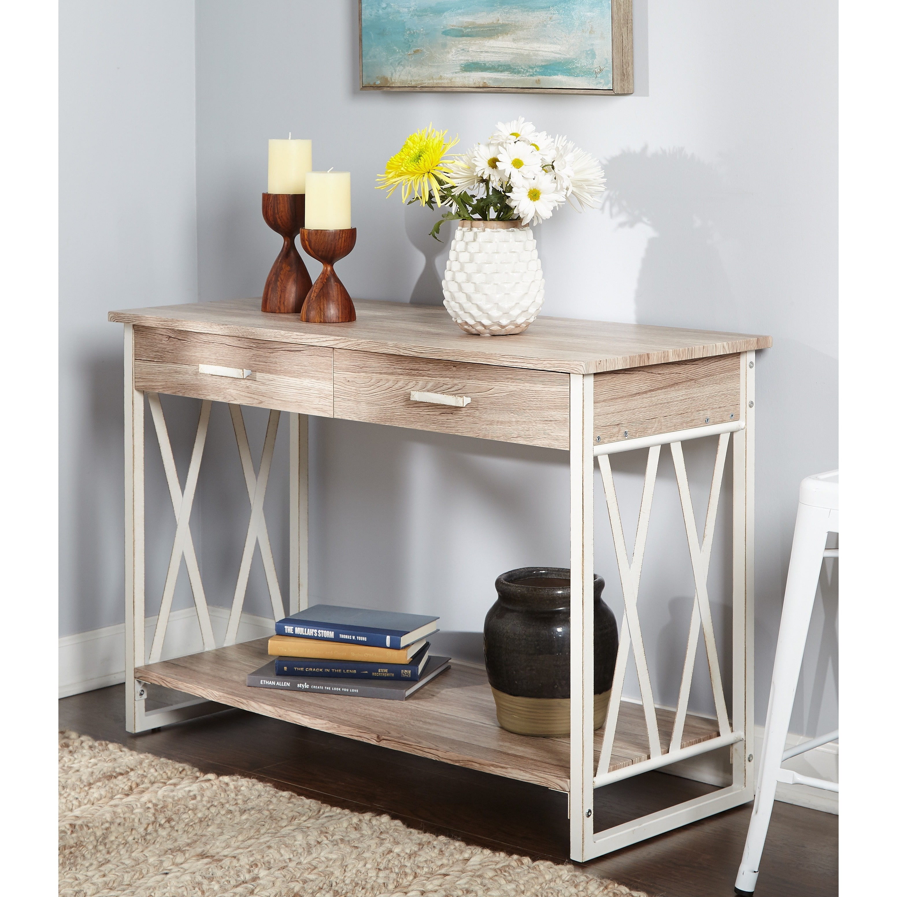 Jaxx Collection Sofa Table, Multiple Colors by Generic