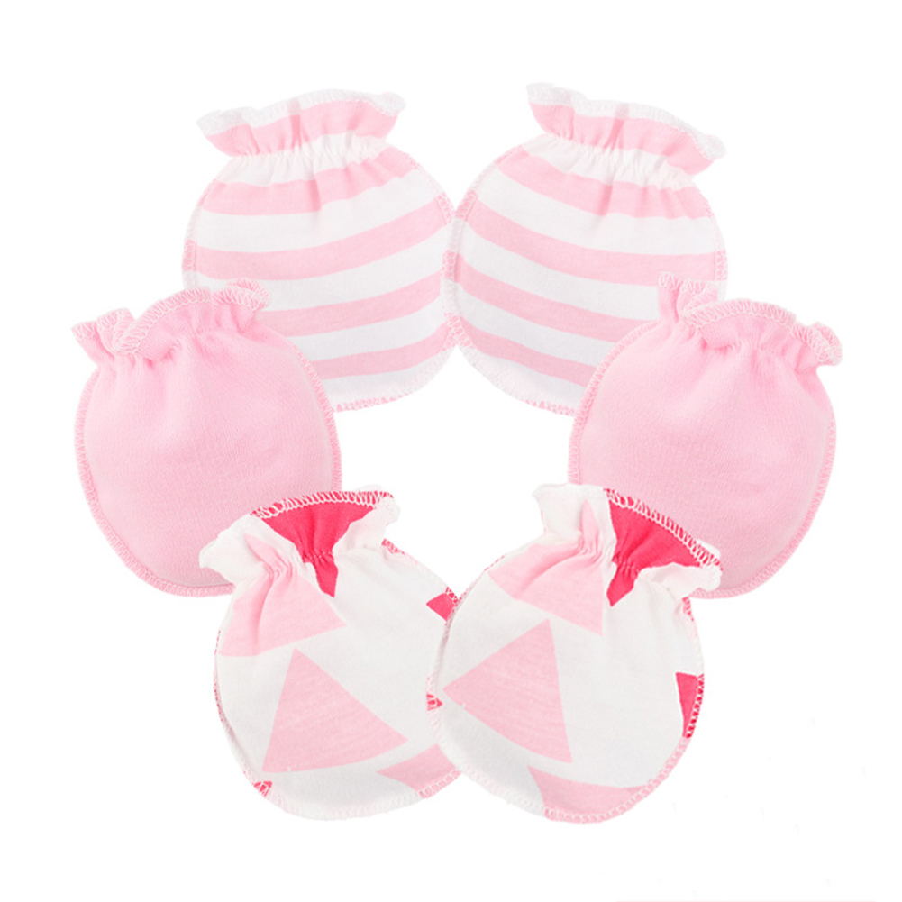 Newborn Boys Girls Infant Soft Cotton Handguard Anti  Mittens Gloves*