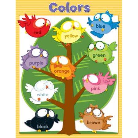 Owl Pals Colors Chart (Cancer Color Chart)