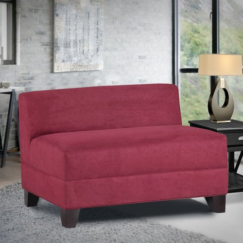 Latitude Run Woodhouse Armless Loveseat