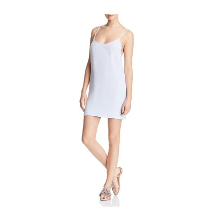 528870a5f3d French Connection Womens Mineral Crepe Backless Slip Dress - image 1 of 1  ...