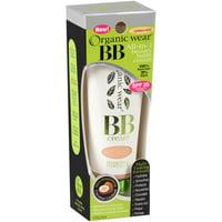 Physicians Formula Organic Wear BB All-in-1 Beauty Balm Cream, Light/Medium, 1.2 fl oz
