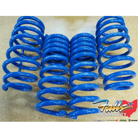 2008-2019 Dodge Challenger Performance Stage 1 Lowering Springs Kit Mopar