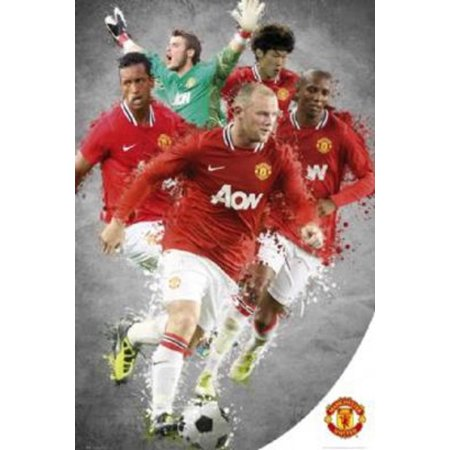Manchester United Players Soccer Sports Poster 24X36 Inch