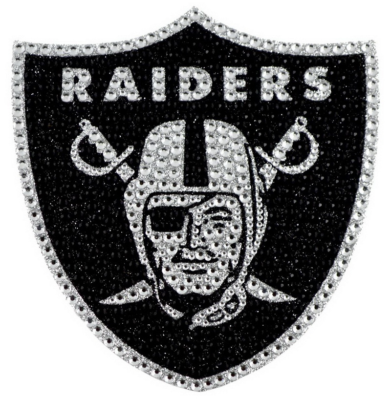 NFL Oakland Raiders Bling Emblem